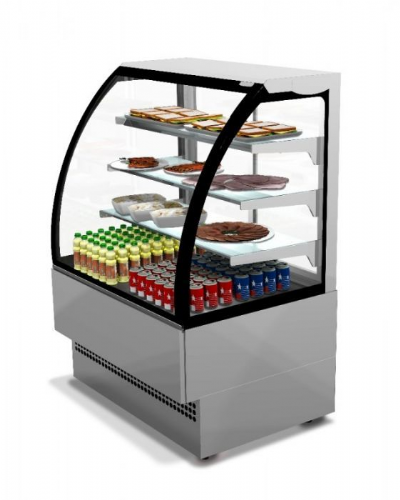 Sterling Pro EVO90-ST Stainless Steel Patisserie Counter, 0.9m / 1.41m² Deck